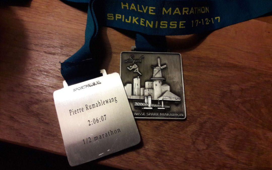 Spijkenisse marathon laatste van 2017