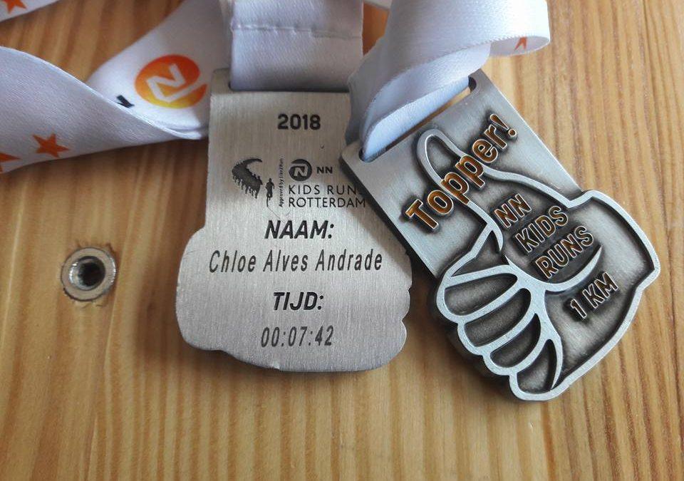 NN Rotterdam marathon kids