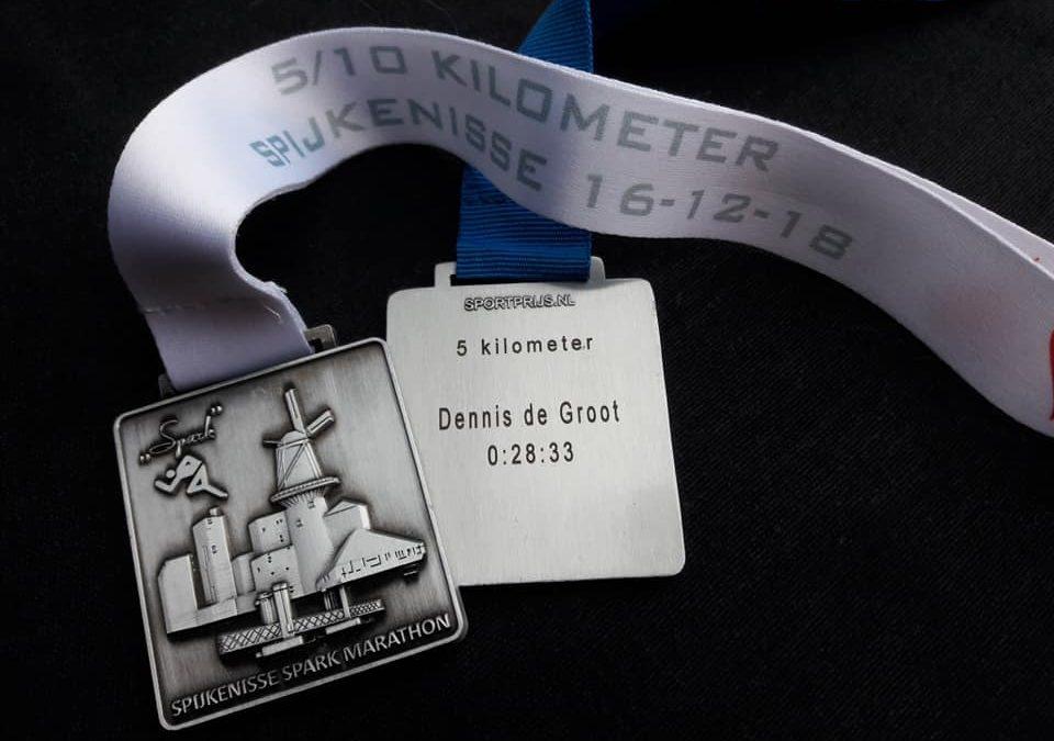 Spijkenisse Spark marathon laatste van 2018