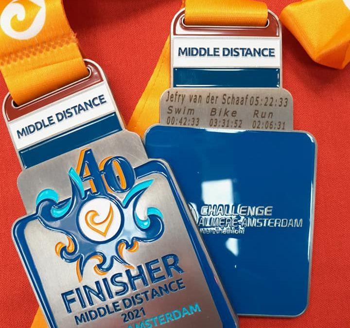 Almere triatlon middle distance.